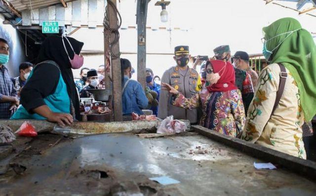 Bupati dan Forkopimda Sidak Pasar Tradisional