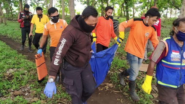 Mayat Tanpa Busana Ditemukan di Sungai Brantas Jombang