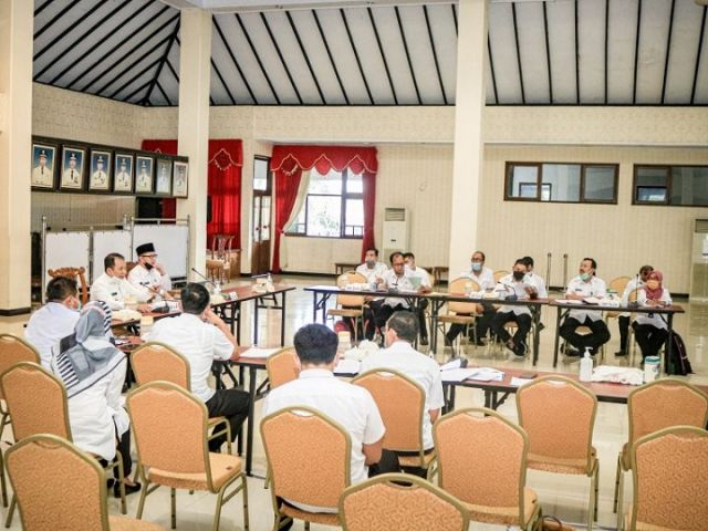 Seluruh Kecamatan di Kabupaten Jember Berikan Pemaparan Proker