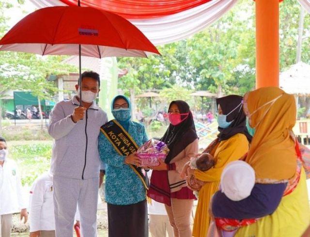 Wali Kota Madiun H Maidi Buka Peluncuran Program BKKBN