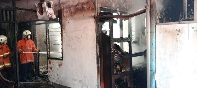 Kebakaran di Perum Dosen ITS, Satu Bocah Meninggal Dunia