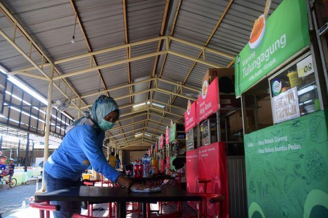 Pedagang Gado-gado di SWK Semolawaru: Omset Sehari Cuma Rp 5.000