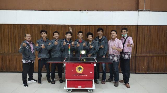 Jagoan Kampus Merah Putih Ciptakan Robot Pasien Covid-19