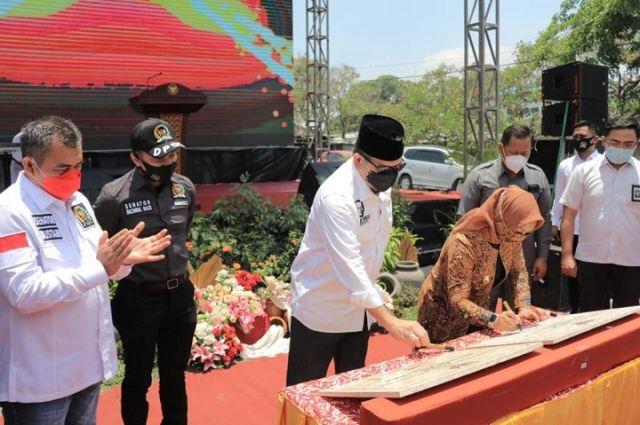 Peresmian Pasar Benpas Dihadiri Ketua DPD RI