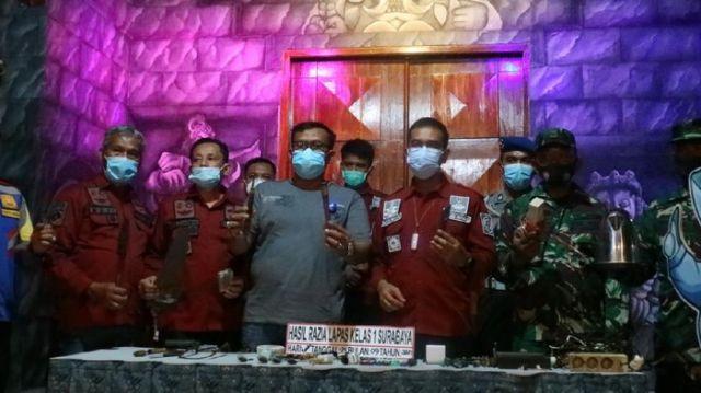 Lapas Surabaya Digeledah, Temukan Sajam Rakitan hingga Gergaji