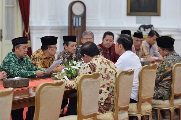 CEO PT. Katama Suryabumi, Kris Suyanto saat audiensi kepada Presiden Jokowi hal pengembangan Inovasi dan pendidikan Pompes bersama bersama Mathlaul Anwar beberapa waktu lalu di Istana Negara.