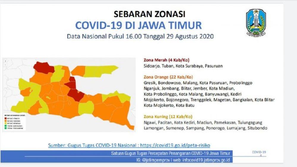 Surabaya Zona Merah Lagi Berikut Data Covid 19 Di Jatim